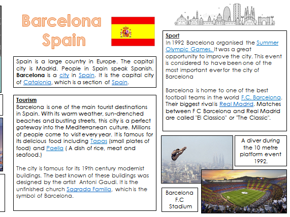 Barcelona Information Text