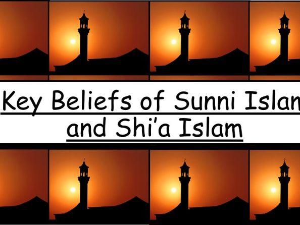 Key beliefs of Sunni and Shi'a Islam AQA 9-1