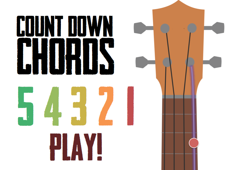 UKULELE | Game: Count Down Chords