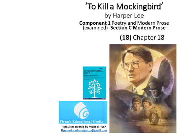 GCSE Literature: (18) 'To Kill a Mockingbird' – Chapter 18