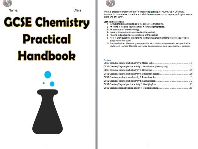 Chemistry 9-1 Required Practical Handbook