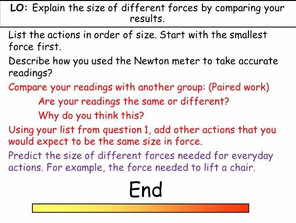 Introduction to Forces (KS3)