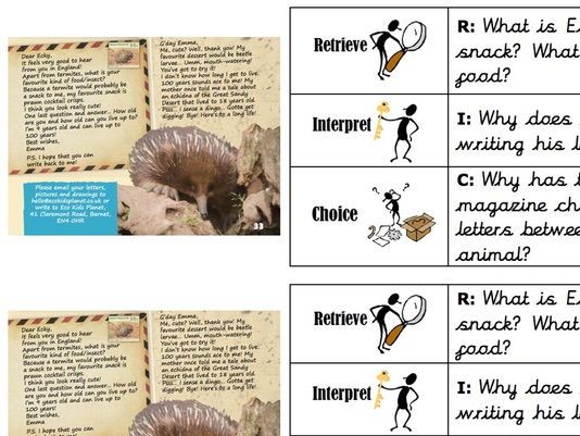 Read with RIC - Non-fiction guided reading activity