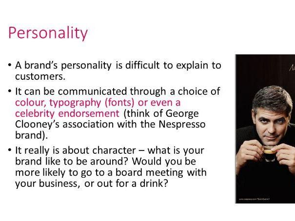 Branding (Brand Identity / Personality) lesson