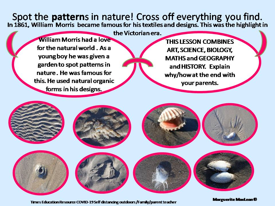 Patterns in Nature - Outdoor space