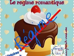French reading AP - Subjonctif - A story with exercises : Un régime romantique