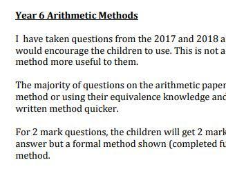 Arithmetic Methods Explained