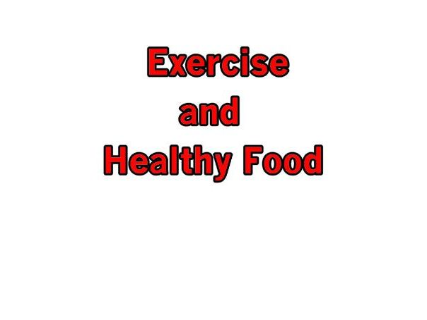 Exercise and Healthy Food - Total Song Pack