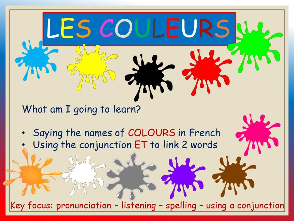COLOURS_vocab & pronunciation KS1-KS2 (voice over included)