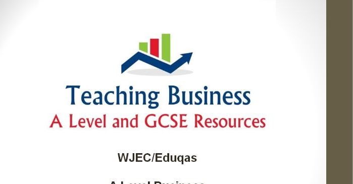 Eduqas Teacher PowerPoint Pack - Component Two (Business Strategy and Analysis)