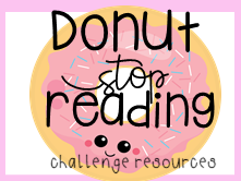 Donut Stop Reading World Book Day Challenge