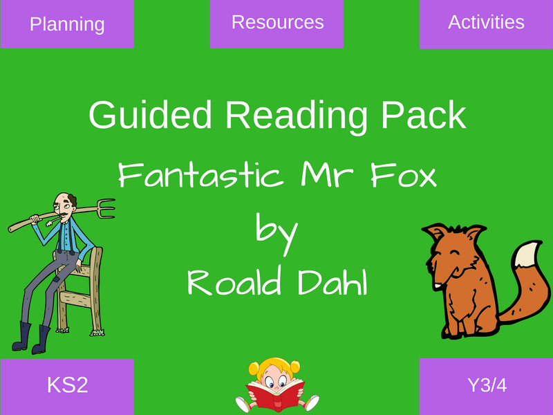 Fantastic Mr Fox Guided Reading Resources Teaching Resources