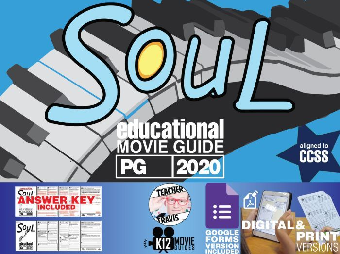 Soul Movie Guide | Worksheet | Questions | Google Form (PG - 2020)