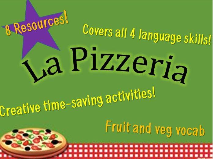 French – Fruit and Veg Vocabulary Resource Kit