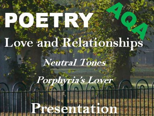AQA Love and Relationships Poetry Exam Revision - Porphyria's Lover and Neutral Tones Sample Answer