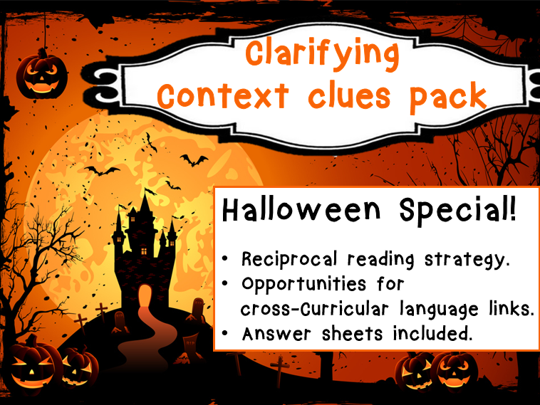 Halloween Special! Clarifying - Context Clues