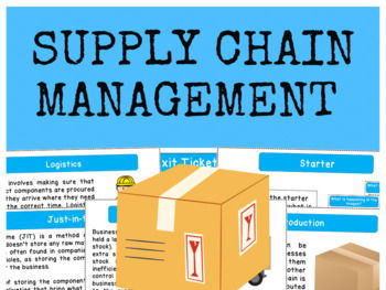 Supply Chain Management - Full Lesson
