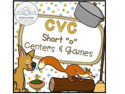 "CVC Short ""o"" Centers and Games"