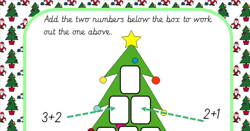 Christmas Tree Co Ordinates By Alutwyche Teaching Resources Tes