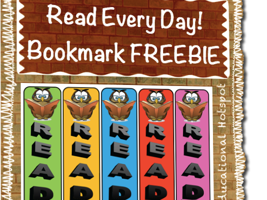 READ Every Day Bookmarks FREEBIE