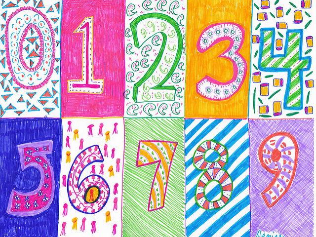 Les nombres 1-10