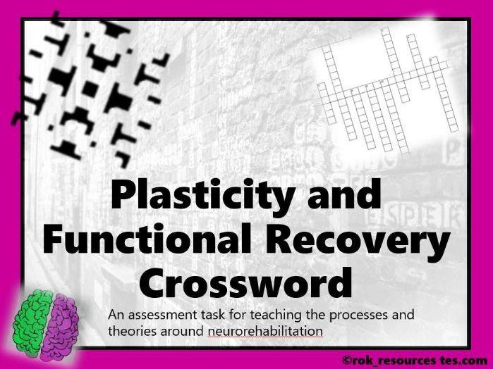 Biopsychology Crossword 4 - worksheet