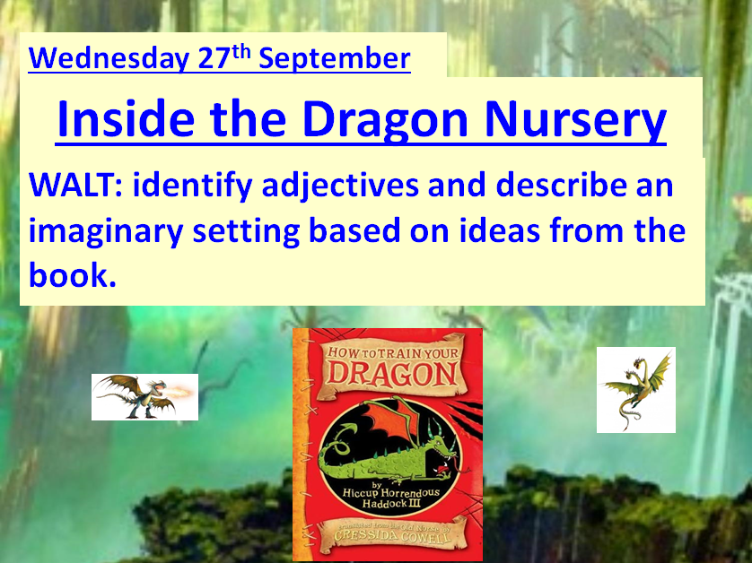 How To train Your Dragon ~ A Complete Set Of 21 Lesson PowerPoints & Resources ~ 4 WEEKS OF LESSONS