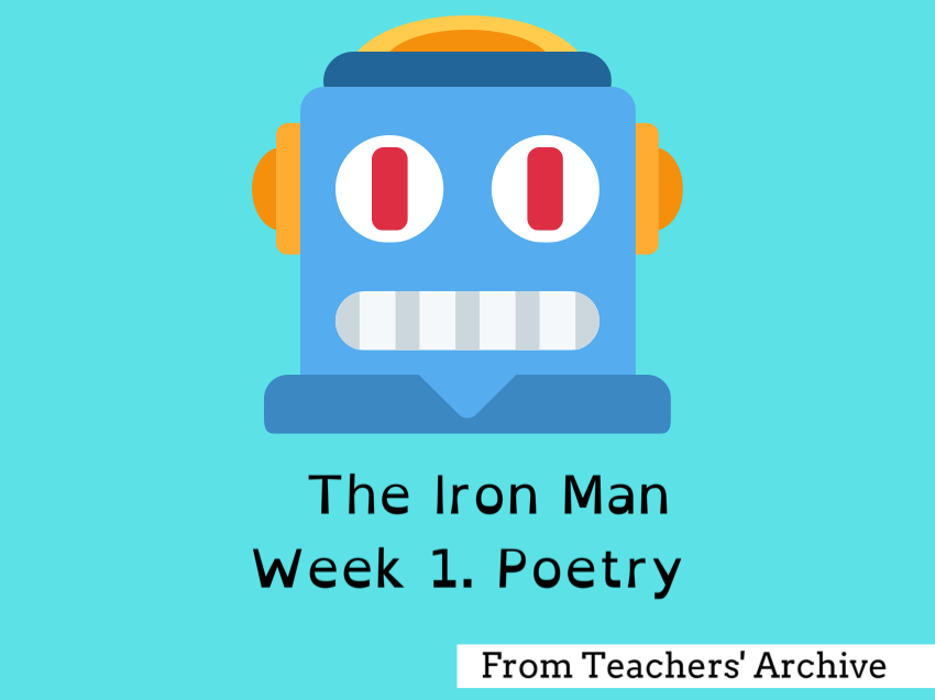 The Iron Man. Poetry.