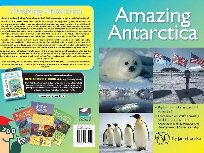 Library Activity Pack: Amazing Antarctica Resource Book