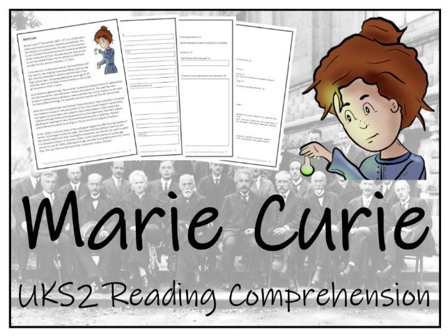 UKS2 Marie Curie Reading Comprehension