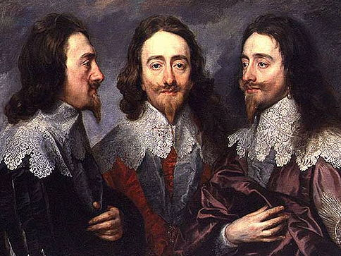 King Charles I - Portrait of a King