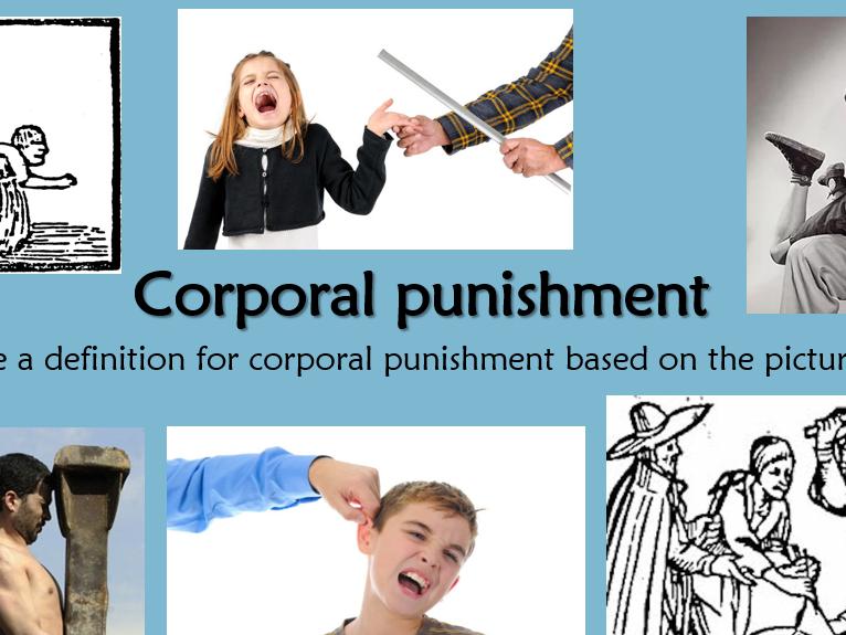 RE GCSE AQA Religion, Crime & Punishment Lesson 5 Suffering (victims), Corporal & Capital Punishment
