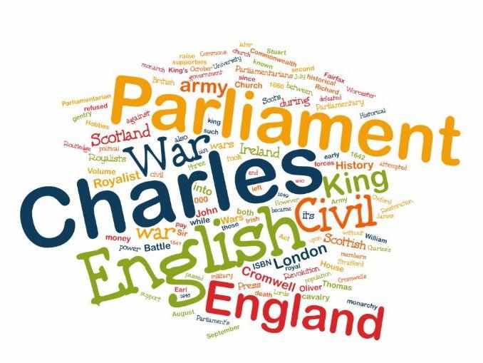 English Civil War in World Clouds