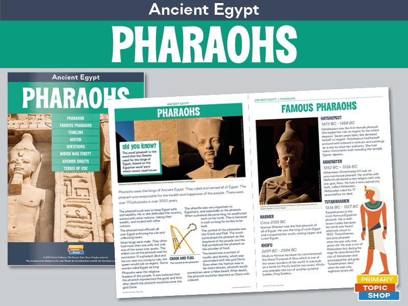 Ancient Egypt - Pharaohs