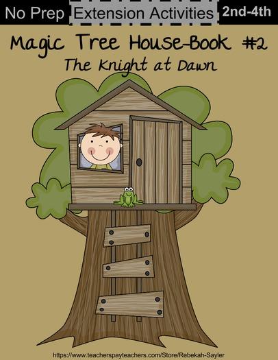 Magic Tree House Book 2: Knight at Dawn