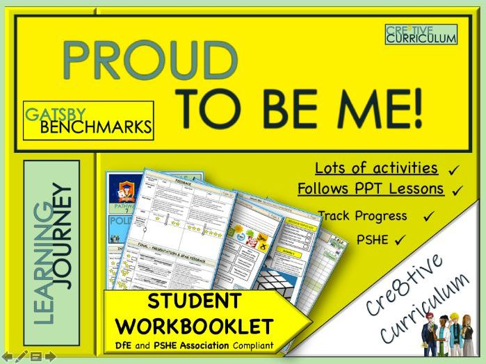 Y8 Proud to be Me Student Work Book