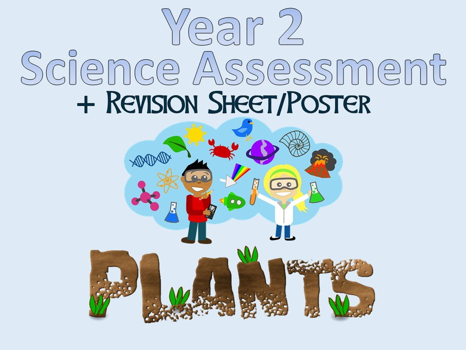 Year 2 Science Assessment: Plants + Revision Sheet/Poster