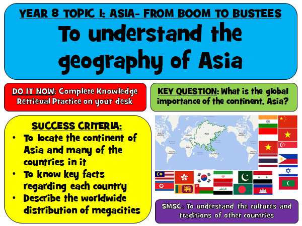 Asia KS3 Resources Bundle