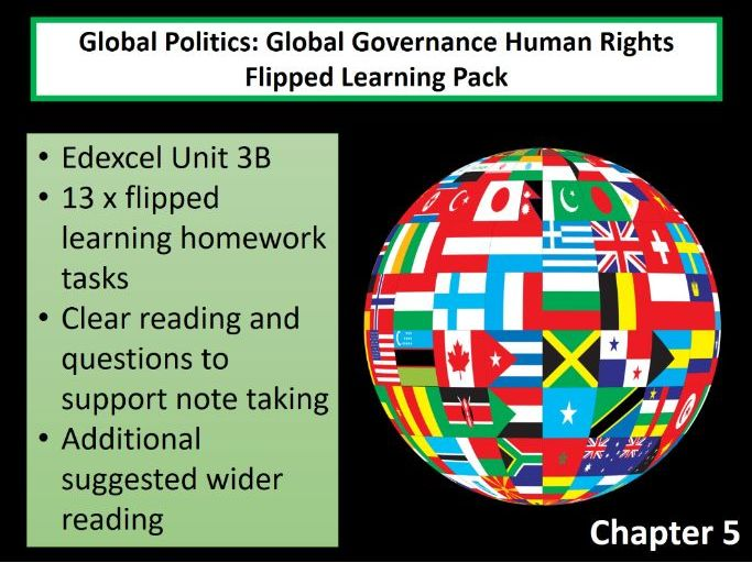 Politics - Global Governance: Human Rights Flipped Learning