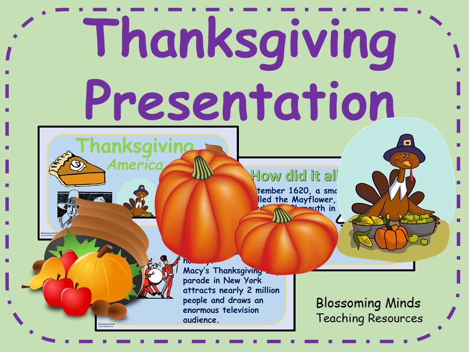 Thanksgiving Presentation