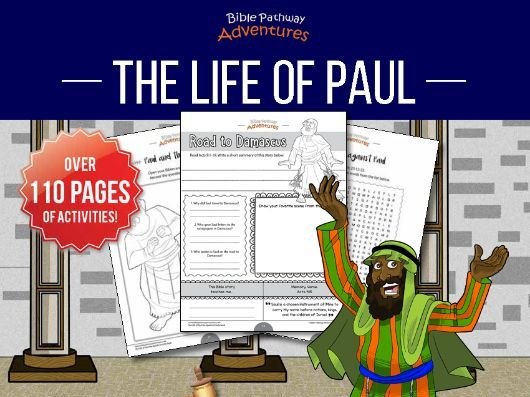 The Life of Paul the Apostle Activity Book