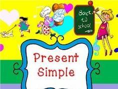 Simple Present tense lesson plan