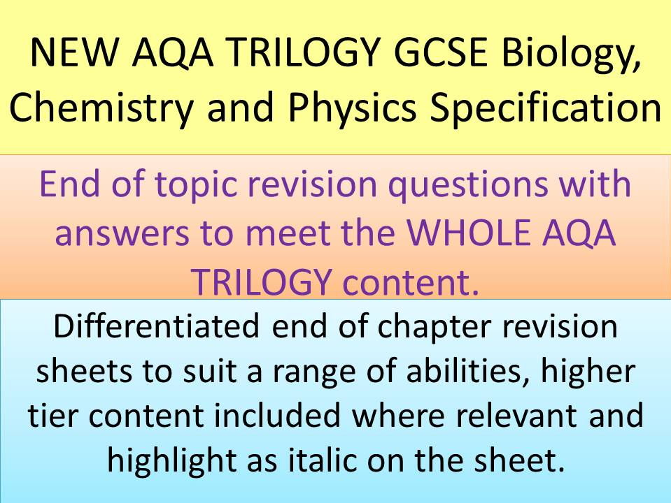 Periodic table aqa chemistry periodic table questions periodic new aqa gcse trilogy end of chapter revision activities for periodic table urtaz Choice Image