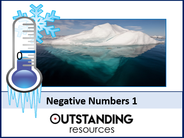 Number: Negative Numbers 1 - Introduction and 4 Operations (+ LOTS of resources)