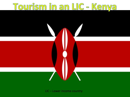 KS3 Tourism - Tourism in an LIC: Kenya