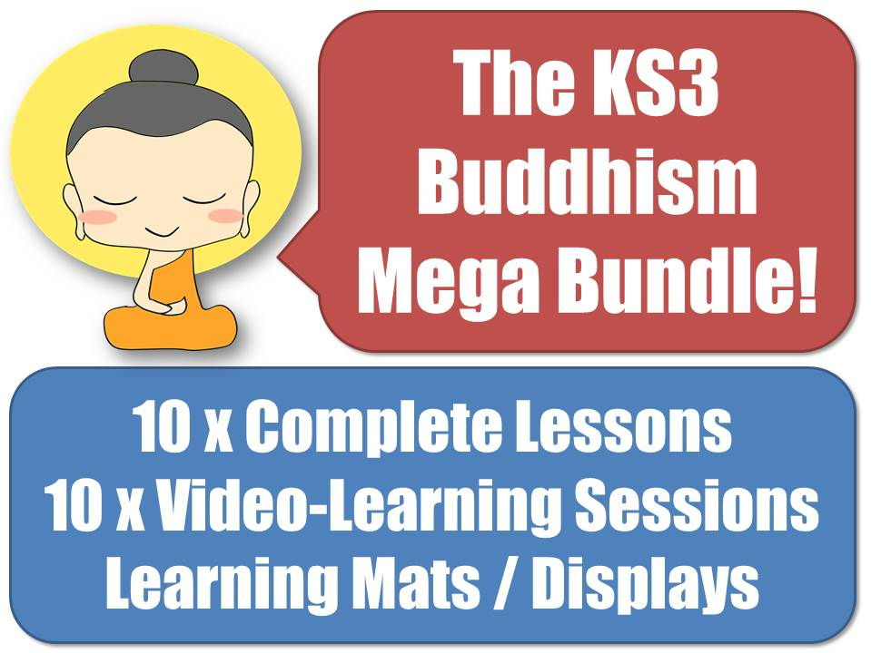 The KS3 Buddhism Mega Bundle
