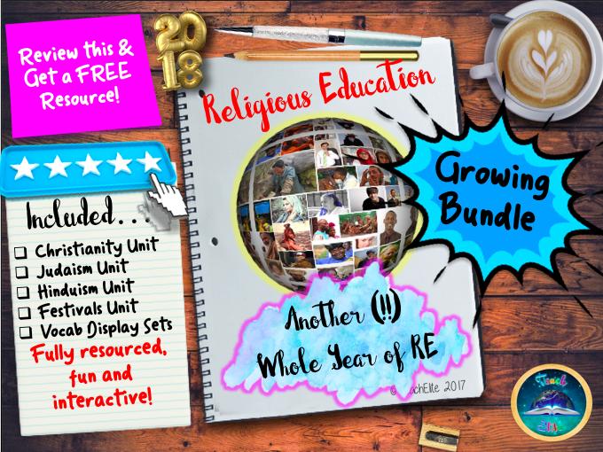 RE : Religious Education, Religious Education, Religious Education!