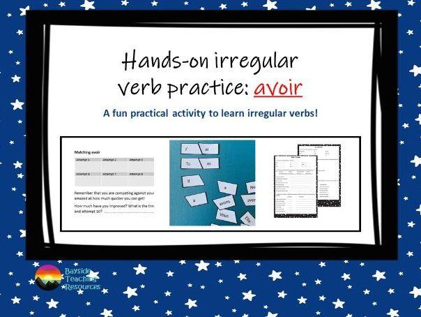 Avoir - practical verb practice