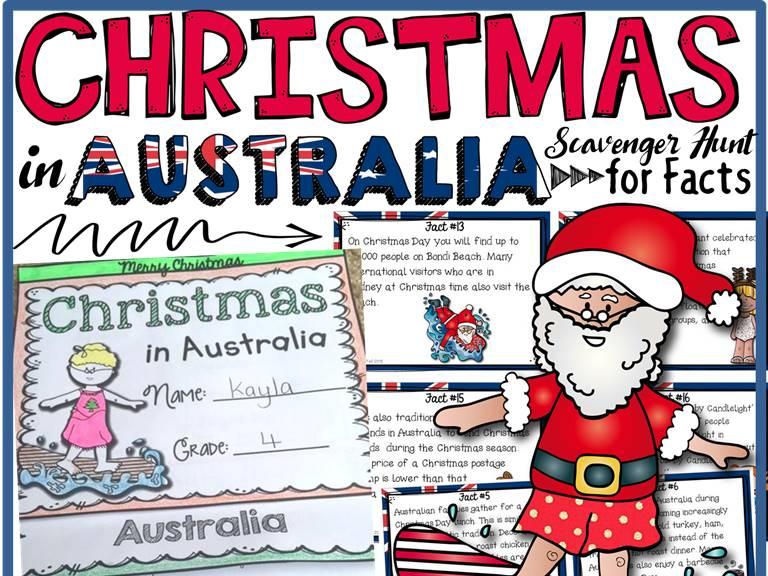 Christmas Fun Facts.Christmas Christmas Around The World Christmas In Australia