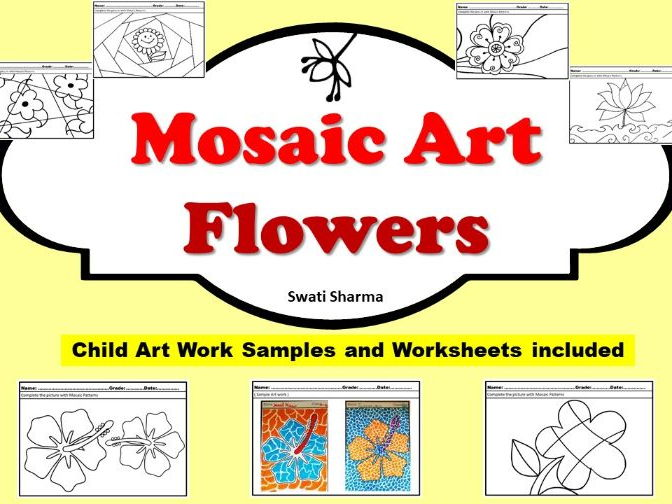 Art Project Mosaic Art Flowers